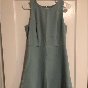 LOFT Teal A-Line Dress Size 6